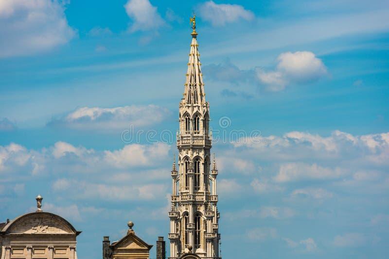 Montering av konsterna i Bryssel, Belgien arkivfoto