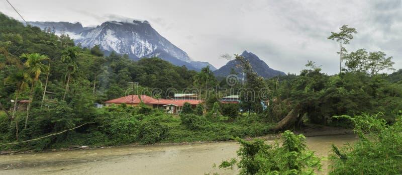 Montering Kinabalu royaltyfri bild
