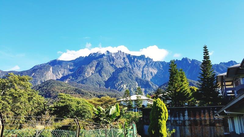 Montering Kinabalu royaltyfri fotografi