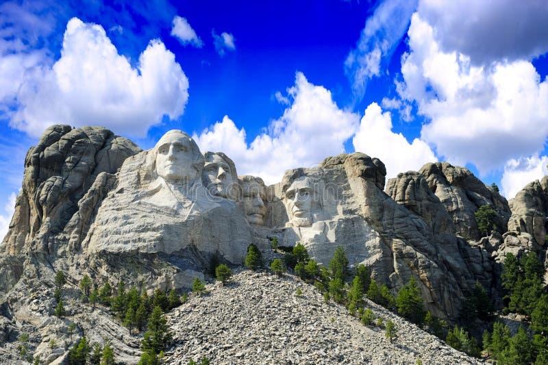 Montering Rushmore arkivbild