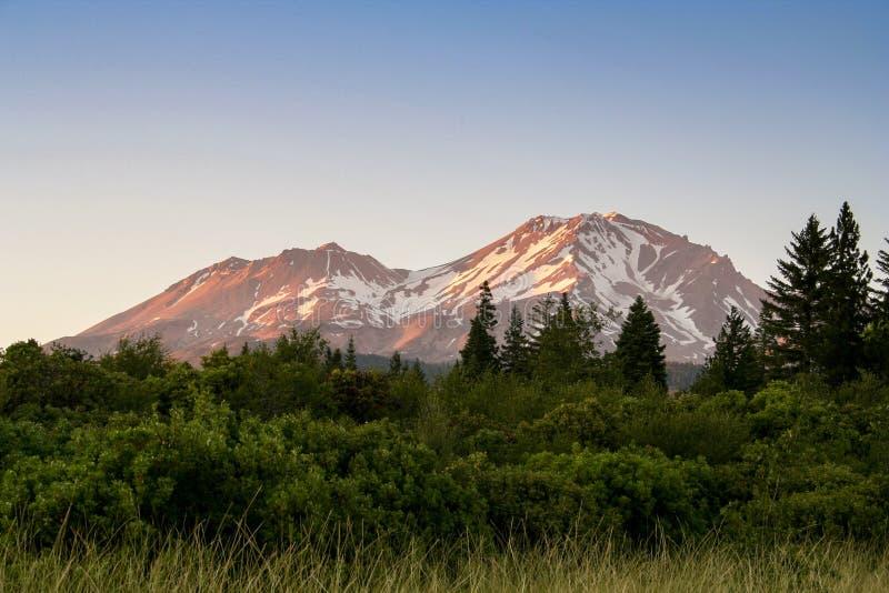 Montering Shasta arkivbild