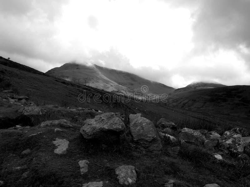 Montering Snowdon royaltyfria foton