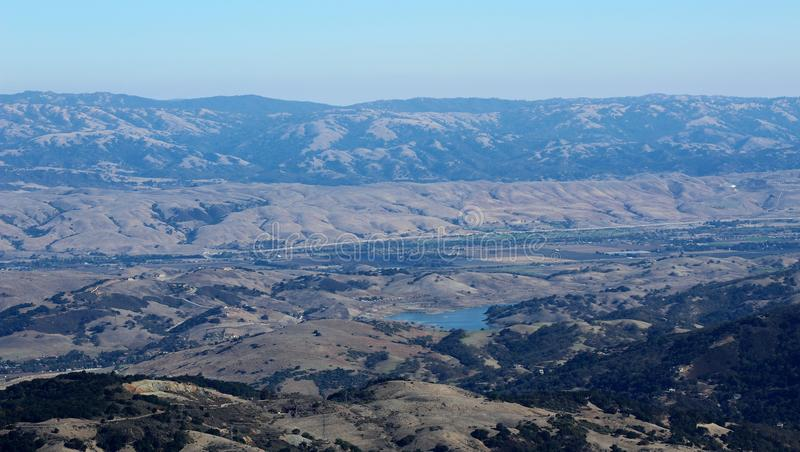 Montering Umunhum Morgan Hill View arkivfoton