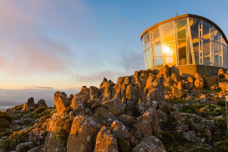 Montering Wellington Tasmania Australia royaltyfri foto