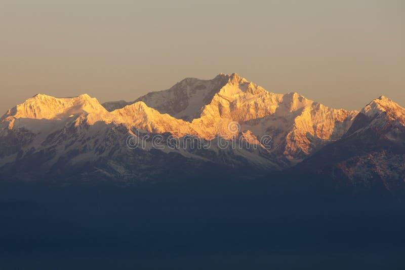 Montering Kanchenjunga arkivbild