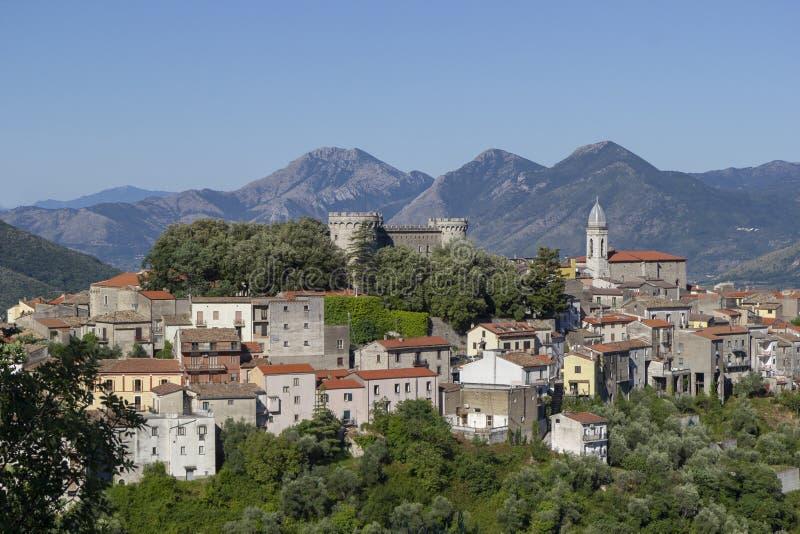 Monteroduni-Dorf lizenzfreie stockfotografie