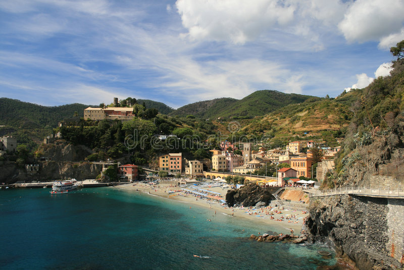 monterosso της Ιταλίας στοκ εικόνες με δικαίωμα ελεύθερης χρήσης