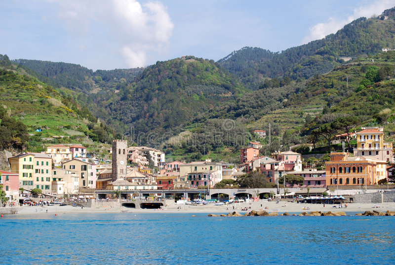 Monterosso-Cinque Terre imagen de archivo libre de regalías