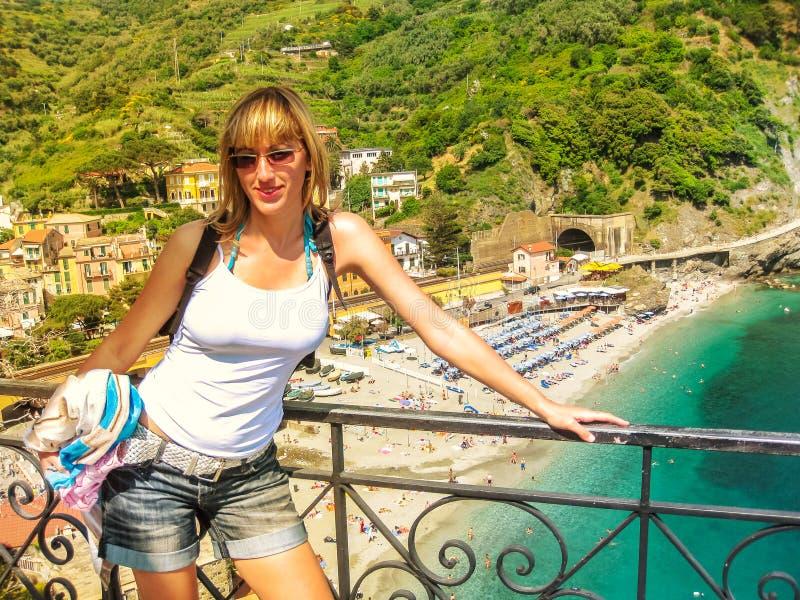 Monterosso Cinque Terre obraz royalty free