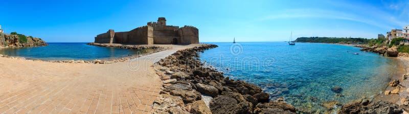 Monterosso kust, Cinque Terre royaltyfri fotografi