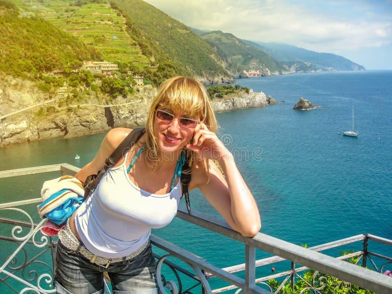Monterosso wakacje letni obrazy stock