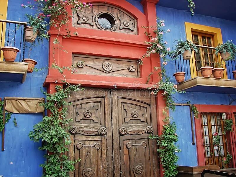 Monterrey Barrio Antiguo. Old city - Monterrey Barrio Antiguo stock photo