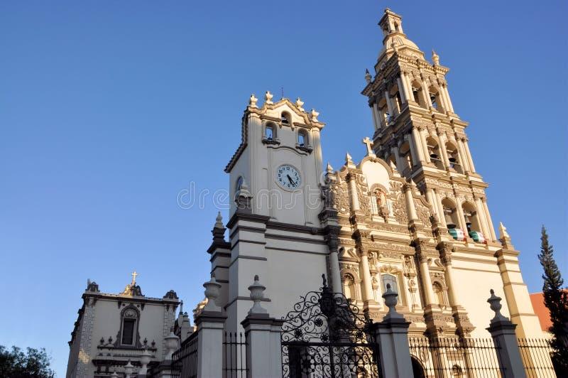 Monterrey Cathedral stock photo