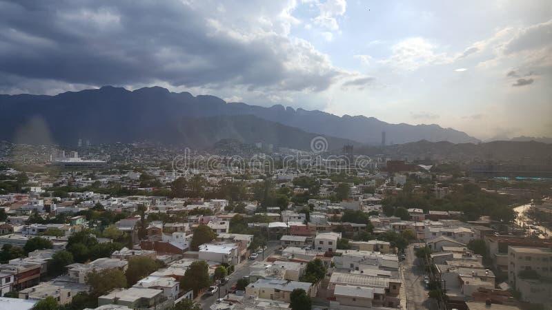 Monterrey-Hügel stockbild