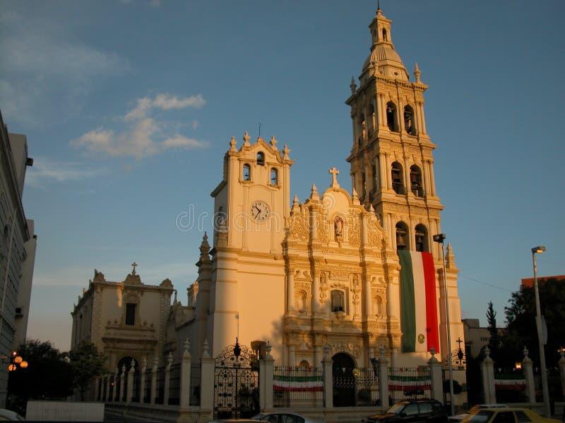 Monterrey-Kathedrale 1 lizenzfreie stockbilder