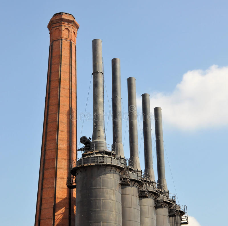Monterrey Mexico. Pic of part of the Parque Fundidora (old steel mill) at Monterrey, Mexico stock photos