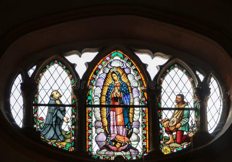 MONTERREY NUEVO LEON/MEICO - 01 02 2017: Basilika de Guadalupe arkivbild