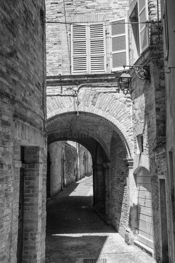 Monterubbiano Fermo, Marches, Italie photographie stock