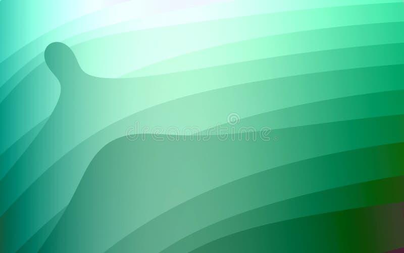 Montes abstratos ilustração stock