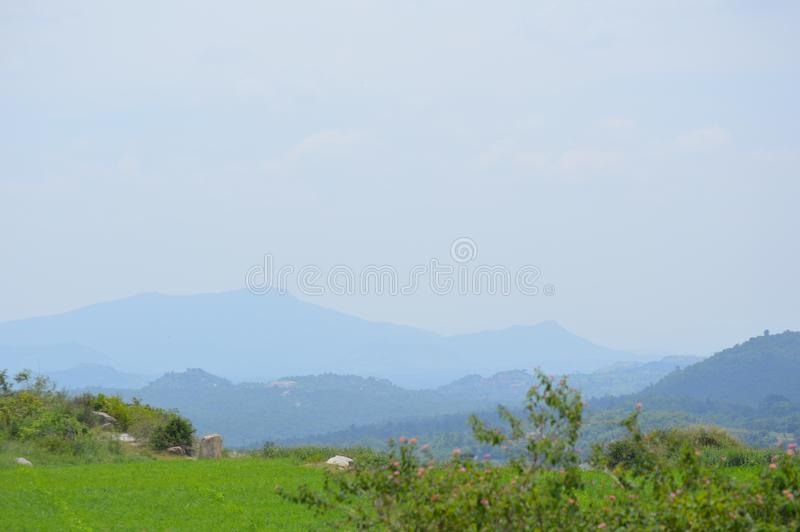 Montes da paisagem foto de stock royalty free
