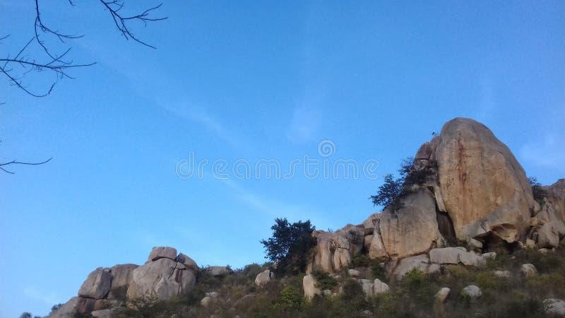 Montes de Horsley, Chittoor, Andhra Pradesh fotografia de stock royalty free