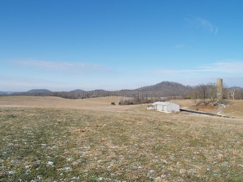 Montes de Kentucky imagem de stock royalty free