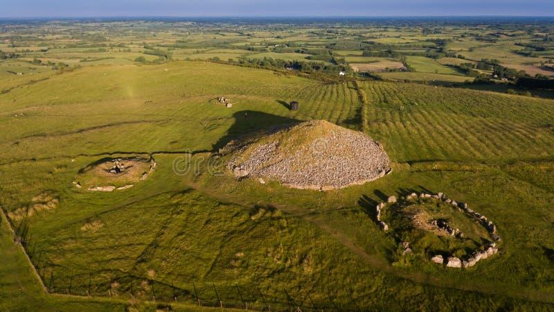 Montes de pedras de Loughcrew condado Meath ireland imagens de stock royalty free
