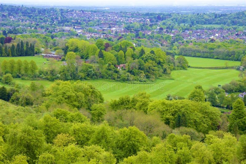 Montes de Surrey, Inglaterra imagens de stock royalty free