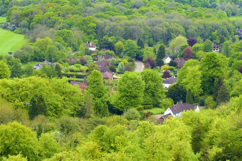 Montes de Surrey, Inglaterra imagens de stock