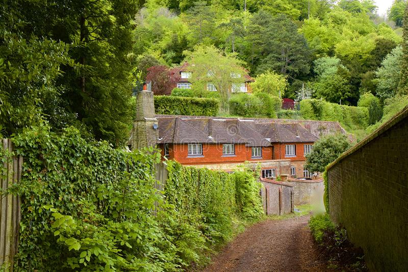 Montes de Surrey, Inglaterra foto de stock