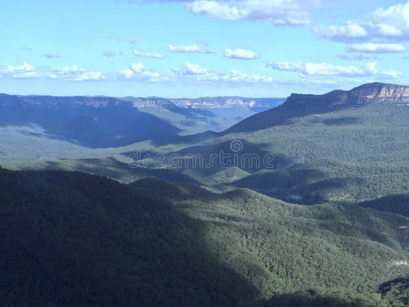 Montes de Sydney imagens de stock
