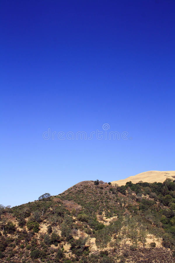 Montes do deserto fotografia de stock royalty free