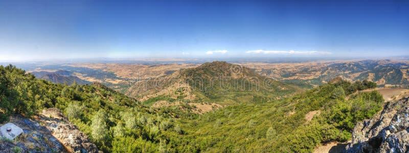Montes dourados em Contra Costa County, montagem Diablo fotos de stock royalty free