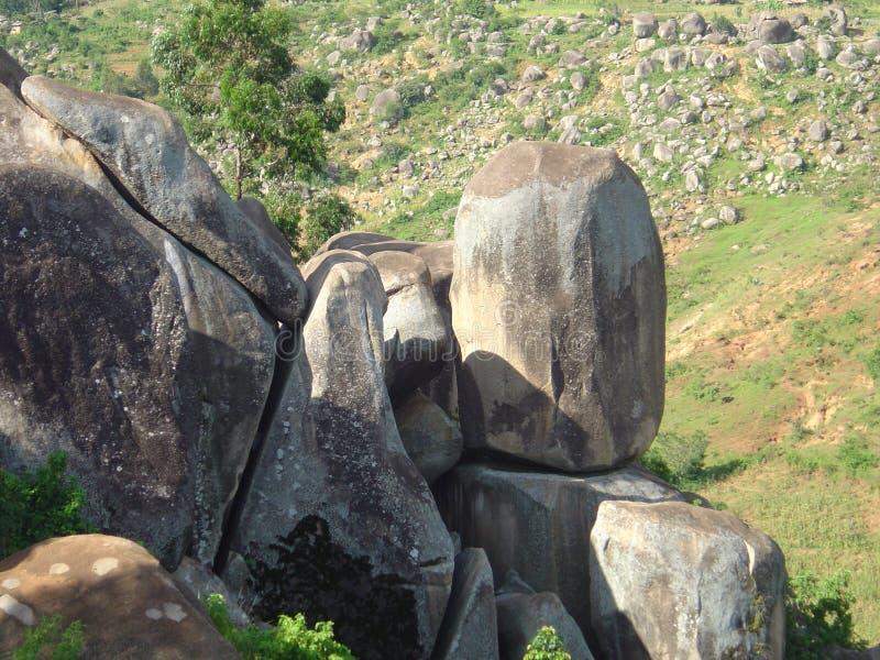 Montes ocidentais de Kenya fotografia de stock royalty free