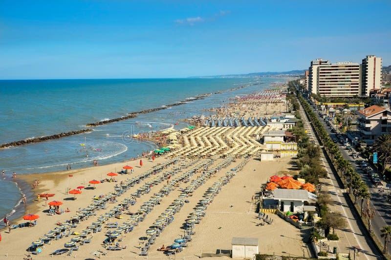 Montesilvano Pescara, Abruzzo, Italië royalty-vrije stock foto