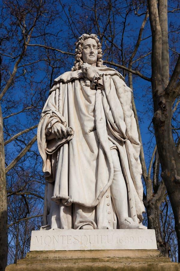 Montesquieu, Bordéus imagem de stock