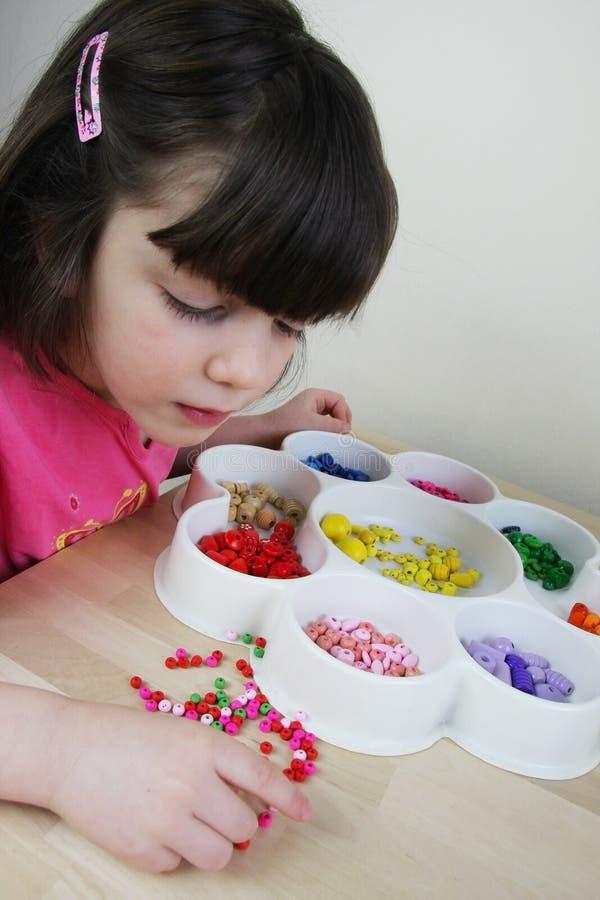 Montessori幼稚园 图库摄影
