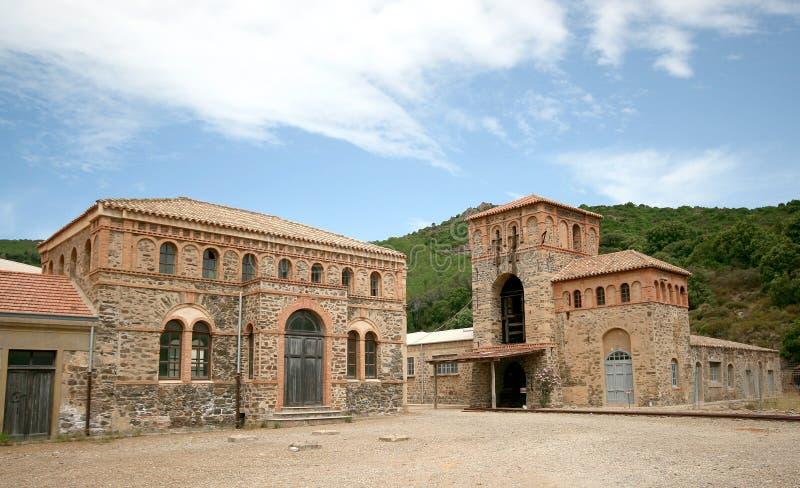 Montevecchiomijn Guspini (Sardinige - Italië) royalty-vrije stock afbeeldingen