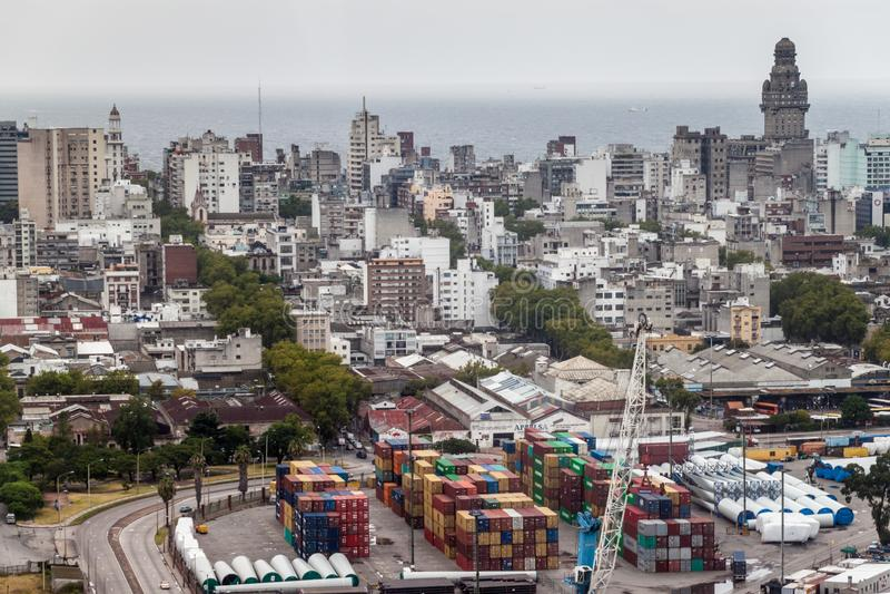 montevideo Уругвай стоковые фотографии rf