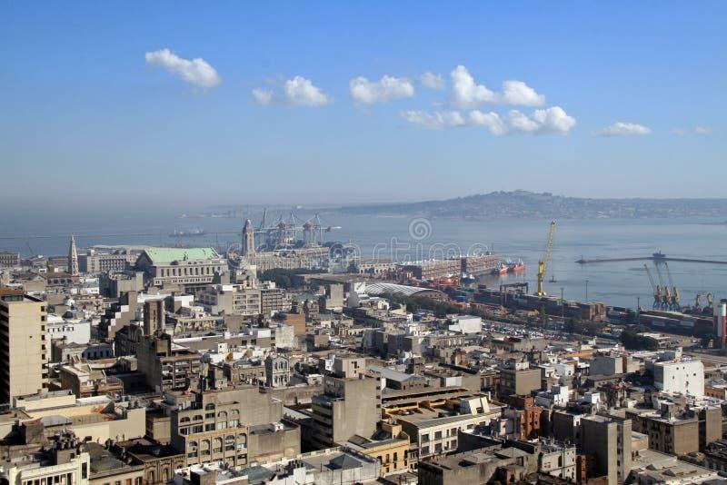 Montevideo, capitale dell'Uruguai immagini stock