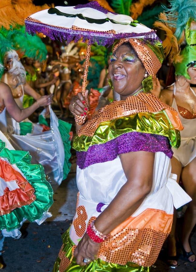 Montevideo carnaval imagens de stock