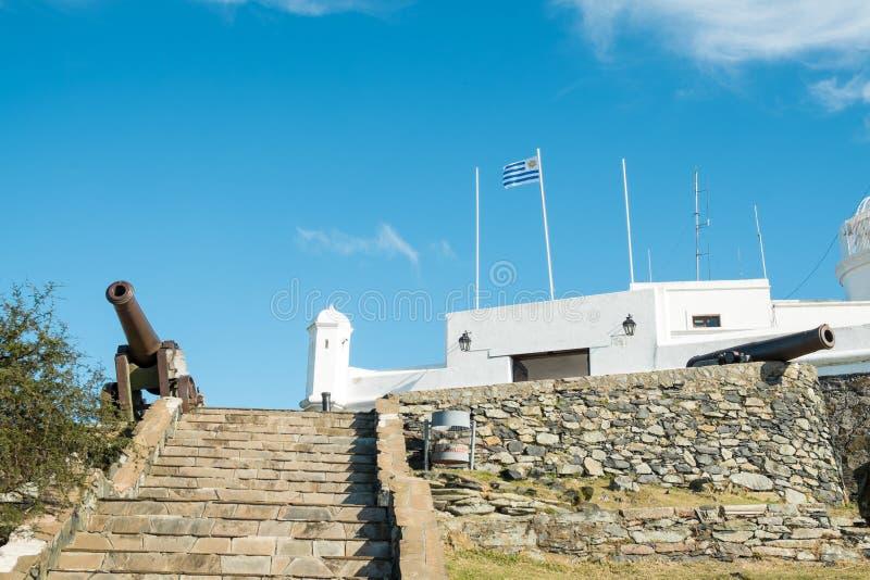 Montevideo-Festung stockbilder