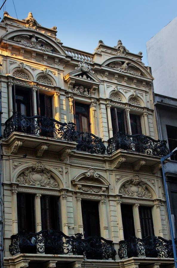 Montevideo-historisches Gebäude lizenzfreie stockfotografie