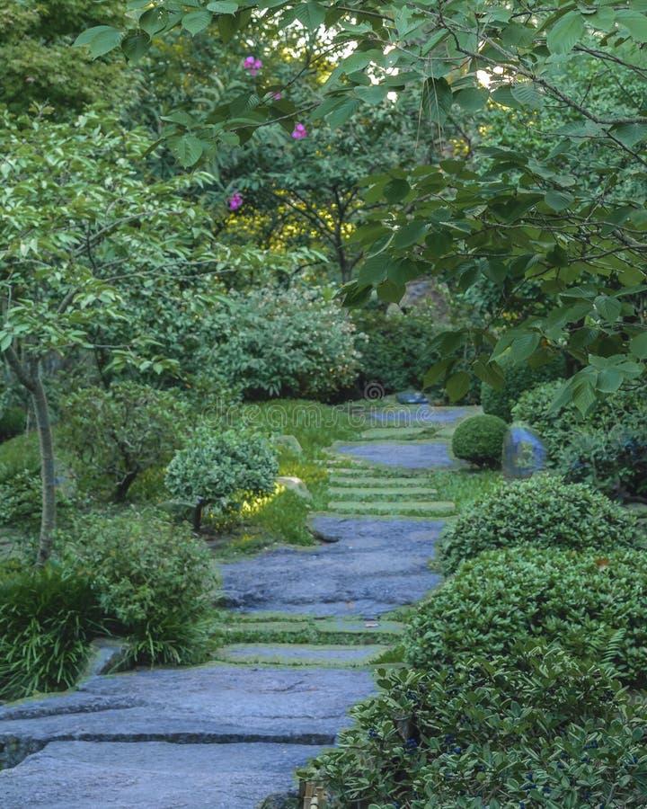 Montevideo japończyka ogród obrazy stock