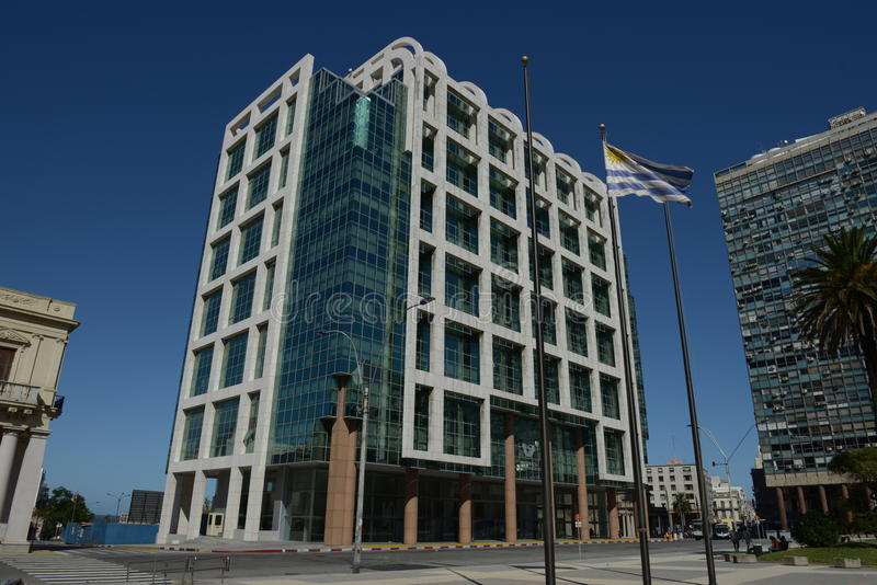 Montevideo nell'Uruguai fotografia stock
