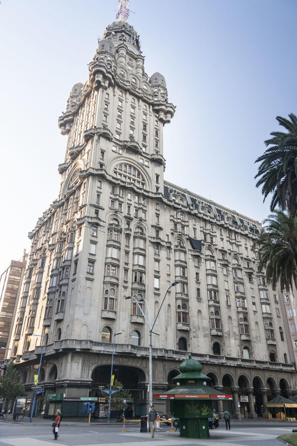 montevideo palaciosalvo uruguay royaltyfria bilder
