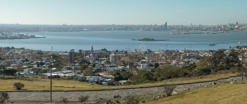 Montevideo panorama obraz royalty free