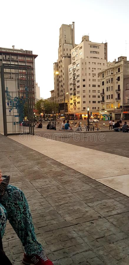 Montevideo - Uruguay stock foto's