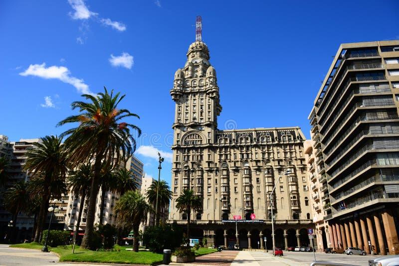 Montevideo in Uruguay stock afbeelding
