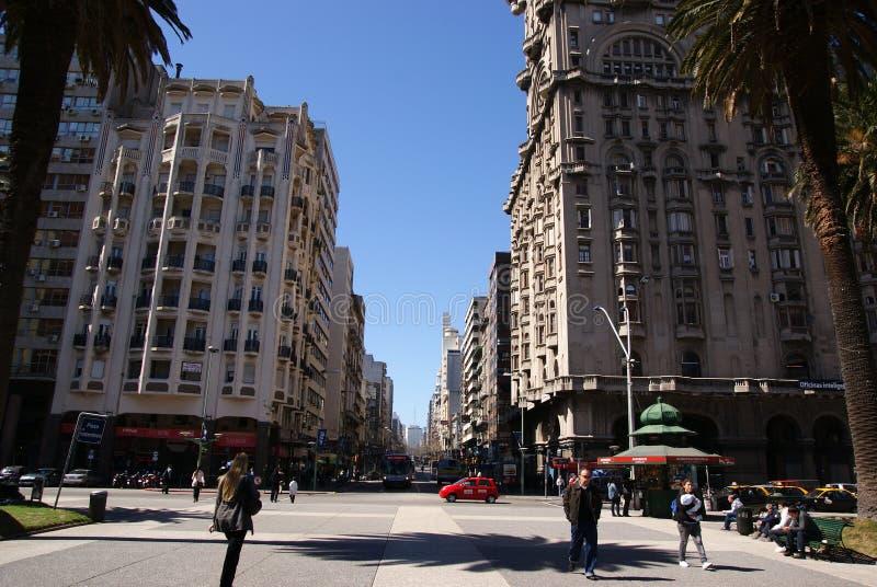 Montevideo Uruguay fotografering för bildbyråer